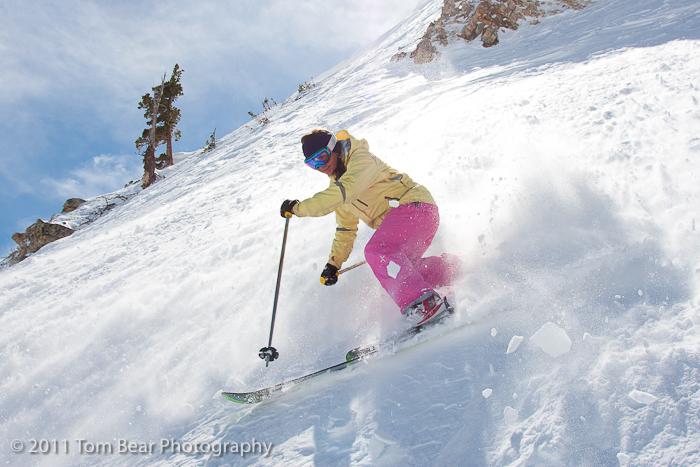 Kate Hourihan, Alta Ski Area